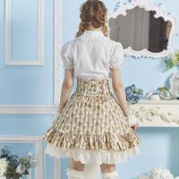 コスプレ スカート 5色展開 花柄 ロリータ  ハロウィン 衣装 L588
