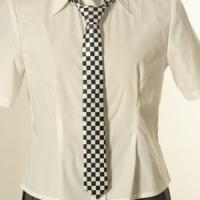 【即日発送】 ハロウィン コスプレ ネクタイ チェック   ハロウィン 衣装 tie031