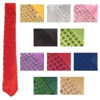 【即日発送】 ハロウィン コスプレ ネクタイ 11色展開 スパンコール   ハロウィン 衣装 tie197