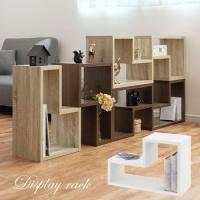 ディスプレイ シェルフ おしゃれ 木製 カラーボックス 横置き 縦置き 積み重ね 収納 リビングボード 部屋 仕切り 棚 収納ボックス 北欧 飾り棚 ラック