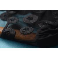 bonappetit-merciシルク100%トップス☆上質素材、刺繍、リボン、ドット、チェニック、パーティー、ボナメル/z765