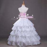 商品紹介:4本のワイヤーでしっかりドレスが膨らみます! ボリュームを出したいAラインや、 プリンセス...