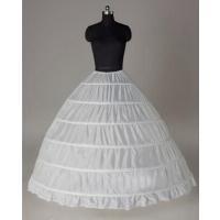 商品紹介:6本のワイヤーでしっかりドレスが膨らみます! ボリュームを出したいAラインや、 プリンセス...