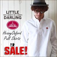 「little DARLING」から、人気の定番フォルムをヘビーウェイトなオックスフォード生地で仕上...