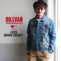 BILLVAN 820 ヴィンテージスタイル デニムジャケット Gジャン メンズ アメカジ