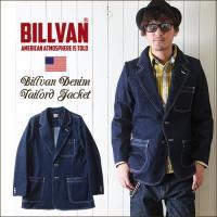 「BILLVAN」より、70年代のオールドアメリカンスタイルをモチーフにしたデニムテーラードジャケッ...
