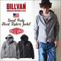 「BILLVAN」より、スウェット素材でカジュアルライクに仕上がったフードタイプの裏毛スウェット ラ...