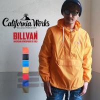 アノラック BILLVAN×CaliforniaWorks 高密度ナイロン パッカブル アノラック パーカー 1060C メンズ アメカジ