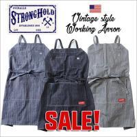 STRONG HOLDというワークウェアブランドが放つ「ワークエプロン」が登場♪  ストロング・ホー...