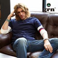 「grn」から、不動の人気を誇る袖ライン7分袖Tシャツがリニューアル♪  ■通常販売価格1,900円...