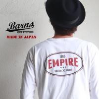 「BARNS(バーンズ)」より、地厚で粗野感のあるファブリックにオールドな雰囲気がたまらないモーター...