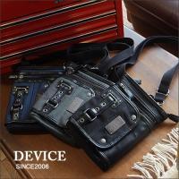 「DEVICE」より、ちょっとした小物入れとして普段使いに重宝するシザー&ショルダー 2WAYバッグ...