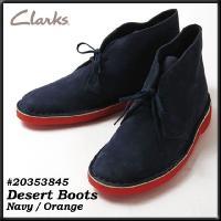 クラークス CLARKS 靴 メンズ  DESERT BOOT デザートブーツ ヌバックレザー オレ...