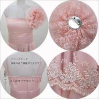 パーティードレス ショートドレス 結婚式 ブライダル 2次会 チュールパーティドレス レディース