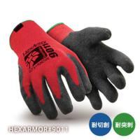 最高の保護力と柔軟性を両立。手のひらのラテックスコートにより、グリップ強化。手の甲がニットで、柔軟性...