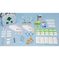救難活動の必需品、救護セットです。誰でも簡単に応急処置ができるように、衛生材で内容を構成したセットで...