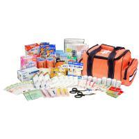 約50人規模のオフィスや事業所などで使える救急セット!  バッグはショルダーにもなるため、持ち運びが...