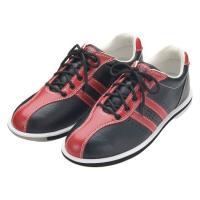 ABS ボウリング シューズ S-380 ブラック・レッド アメリカン ボウリング サービス ボウリング用品 ボーリング グッズ 靴|bowl-shoes