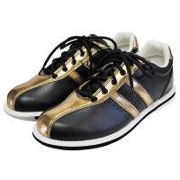 ABS ボウリング シューズ S-380 ブラック・ブロンズ アメリカン ボウリング サービス ボウリング用品 ボーリング グッズ 靴|bowl-shoes