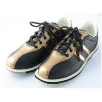 ABS ボウリング シューズ S-380 ブラック・ブロンズ アメリカン ボウリング サービス ボウリング用品 ボーリング グッズ 靴|bowl-shoes|02
