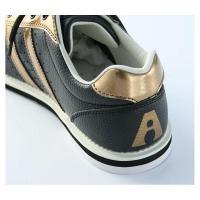 ABS ボウリング シューズ S-380 ブラック・ブロンズ アメリカン ボウリング サービス ボウリング用品 ボーリング グッズ 靴|bowl-shoes|03