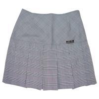 品名:P-3900 グレンチェックプリーツスカート カラー:グレー サイズ:SS、S、M、L、LL、...
