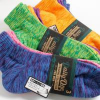 長時間圧迫すると痛くなりがちなつま先や足裏、カカト部分は、包み込むようなパイル編み仕様に!!運動時の...