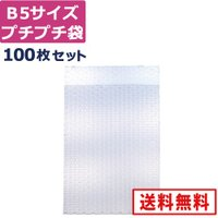 プチプチ袋・エアパッキン袋・エアキャップ袋(川上産業) B5(d40)【200×280×40mm】 ...