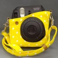 富士フィルムチェキカメラケース<br> 素材:コットン、部分革使用<br> ...