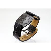 【サイズ】:22mm 【バンド素材】:レザー 【カラー】:ブラック  時計修理 時計部品 修理部品 ...