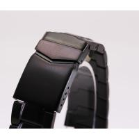 【サイズ】:22mm 【バンド素材】:ステンレス 【カラー】:ブラック  時計修理 時計部品 修理部...