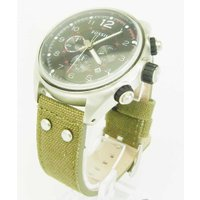 FOSSIL  フォッシル 腕時計 メンズ CH2697     ハミルトン 汎用ベルト付 カーキ...