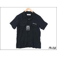 中古/新古品 16SS RUDE GALLERY半袖ボーリングシャツ3/ブラック