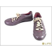 【商品名】NIKE ナイキ HALFBACK LEATHER MTR スニーカーUS9 BROWN ...