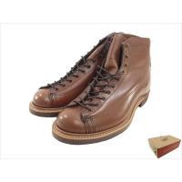 【商品名】レッドウィング 2996 ワイドパネル ラインマン 未使用 ブーツ  ブラウン系 US9....