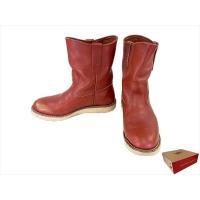 【商品名】レッドウィング 8866 pecos boots ペコスブーツ  ブラウン系 7.5E R...