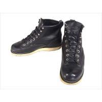 【商品名】レッドウィング 2909 ラインマン ブーツ クロムエクセルレザー  ブラック系 US8D...