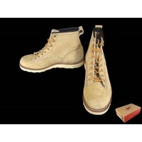 【商品名】レッドウィング 2925 LINEMAN ラインマン ブーツ  ベージュ系 US8.5D ...