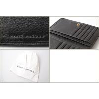 マークジェイコブス 財布 MARC JACOBS 折財布/RECRUIT/リクルート コンパクト ブラック M0008172
