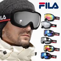 フィラ ゴーグル ミラーレンズ アジアンフィット FILA FLG 7036B 全9カラー スキー スノーボード スノボ スノーゴーグル