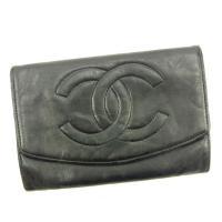 ■管理番号:A1315  【商品説明】 シャネル【CHANEL】の  二つ折り財布です。  ◆ランク...
