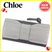 ■管理番号:A1435  【商品説明】 クロエ【Chloe】の  長財布です。 定番人気のリボンモチ...