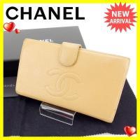 ■管理番号:C2258  【商品説明】 シャネル【CHANEL】の  がま口財布です。  ◆ランク ...