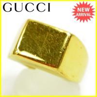 ■管理番号:C2652  【商品説明】 グッチ【Gucci】の  指輪です。  ◆ランク 【6】 【...