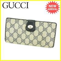 ■管理番号:D1535  【商品説明】 グッチ【GUCCI】の  Wホック財布です。 男女共にお使い...
