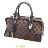 ■管理番号:E1189  【商品説明】 ロエベ【LOEWE】の 「アマソナ28」 ハンドバッグです。...