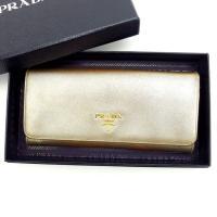 ■管理番号:E858  【商品説明】 プラダ【PRADA】の  長財布です♪  ◆ランク 【7】 【...