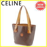 ■管理番号:G1108  【商品説明】 セリーヌ【CELINE】の バケット トートバッグです。 内...