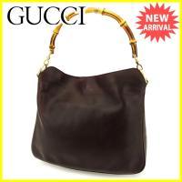 ■管理番号:I456  【商品説明】 グッチ【Gucci】の  トートバッグです。 定番人気のバンブ...