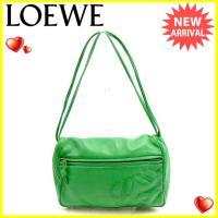 ■管理番号:J15364  【商品説明】 ロエベ【LOEWE】の  ショルダーバッグです。  ◆ラン...